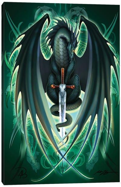 Dragonsword Skullblade Canvas Art Print