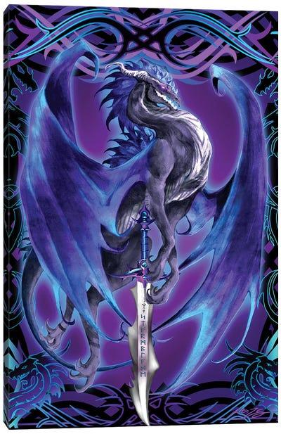 Dragonsword Stormblade Canvas Art Print
