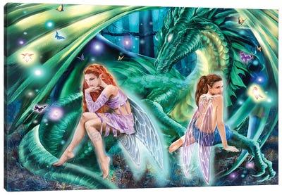 Gemini Faeries Canvas Art Print