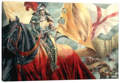 Lancelot Canvas Art Print