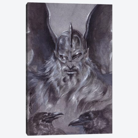 Odin Canvas Print #RTP175} by Ruth Thompson Canvas Print