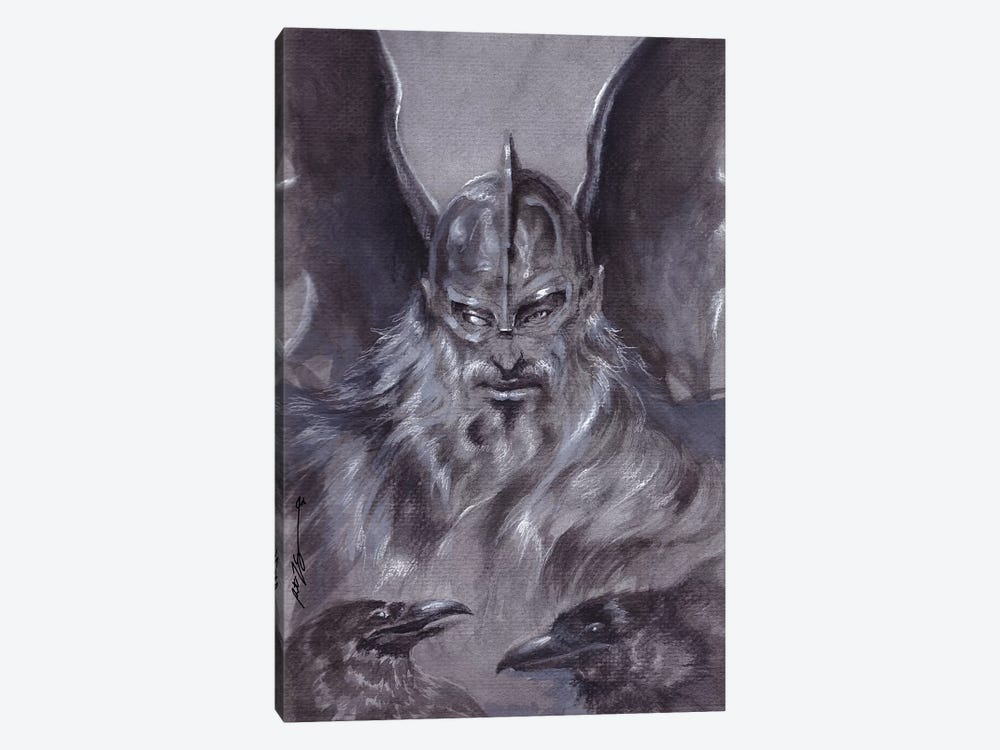 Odin by Ruth Thompson 1-piece Canvas Wall Art
