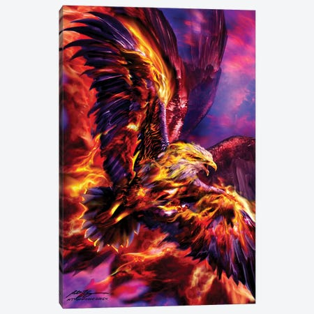 Phoenix Rising Canvas Print #RTP177} by Ruth Thompson Canvas Print