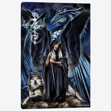 St. Azriel The Archangel Canvas Print #RTP181} by Ruth Thompson Art Print