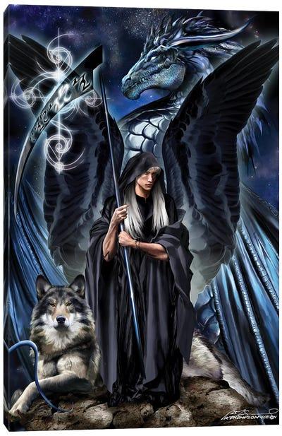 St. Azriel The Archangel Canvas Art Print