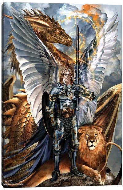 St. Michael The Archangel Canvas Art Print