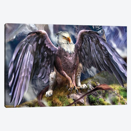 Warchief Canvas Print #RTP186} by Ruth Thompson Canvas Artwork