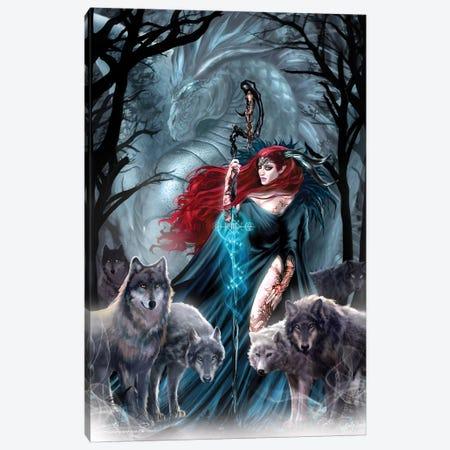 Zodiac Scorpio Canvas Print #RTP188} by Ruth Thompson Canvas Art Print