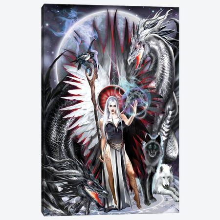 Gemini Canvas Print #RTP190} by Ruth Thompson Canvas Artwork