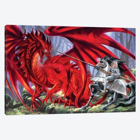 Bloodlust Canvas Print #RTP19} by Ruth Thompson Canvas Wall Art