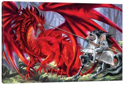 Bloodlust Canvas Art Print