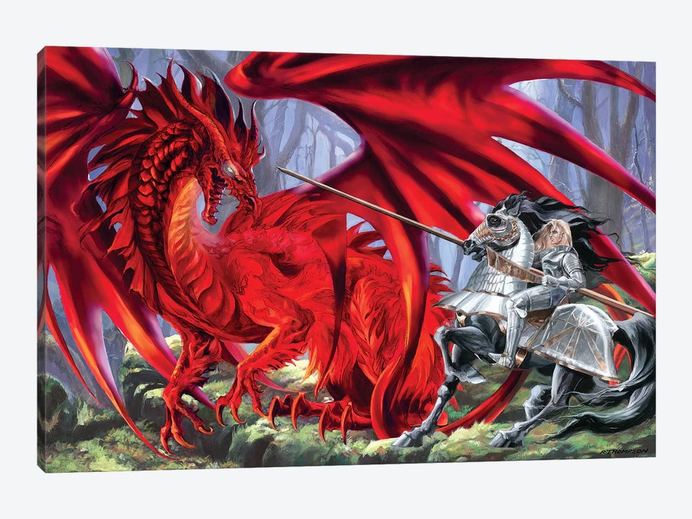 Bloodlust by Ruth Thompson 1-piece Canvas Wall Art