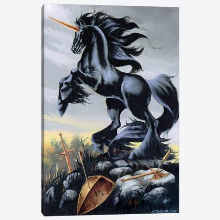 Dark Fury Canvas Print #RTP25} by Ruth Thompson Canvas Wall Art