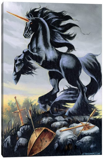 Dark Fury Canvas Art Print