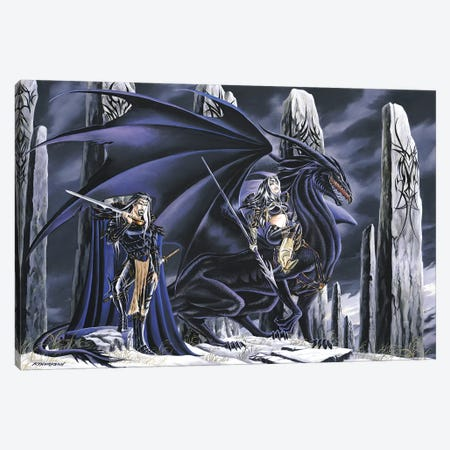 Dead Of Winter Canvas Print #RTP27} by Ruth Thompson Canvas Artwork