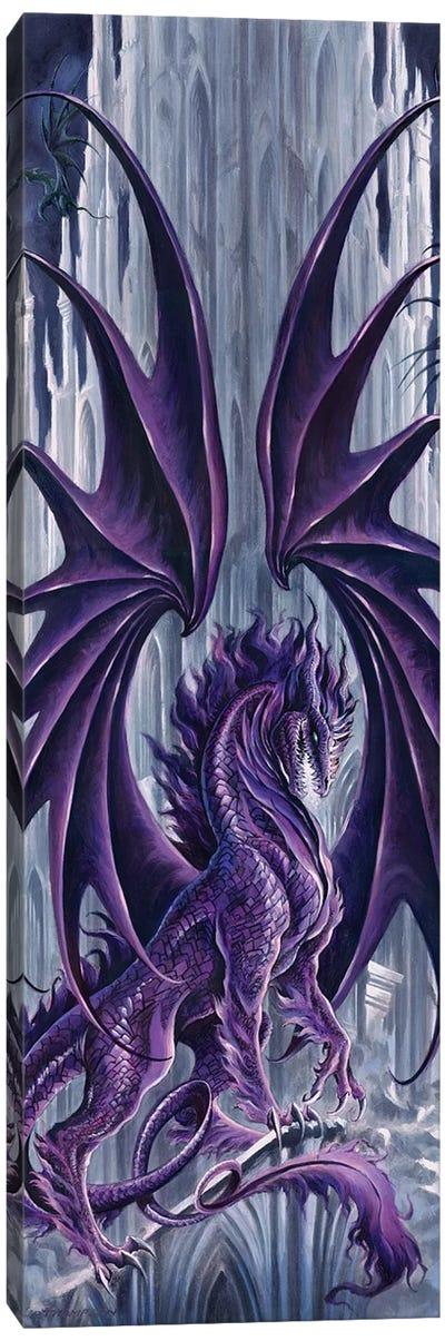 Draconis Nox Color Canvas Art Print