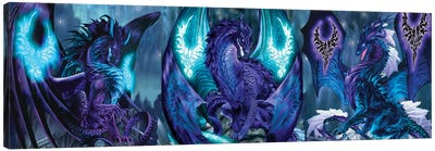Dragons Of Fate Canvas Art Print