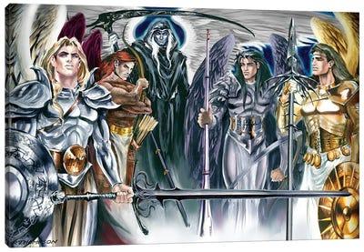 Five Archangels Canvas Art Print