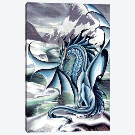 Frostbringer Canvas Print #RTP45} by Ruth Thompson Canvas Wall Art
