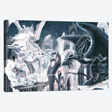 Knights Gambit 3-Piece Canvas #RTP60} by Ruth Thompson Art Print