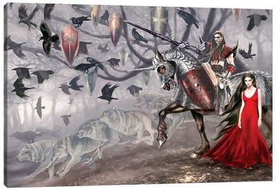 Le Morte D'Arthur Canvas Art Print