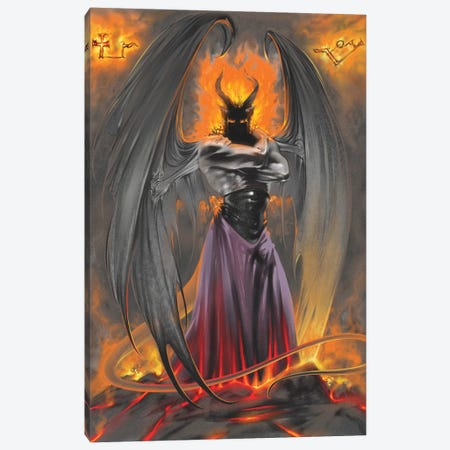 Lucifer Standing Canvas Print #RTP68} by Ruth Thompson Canvas Art Print