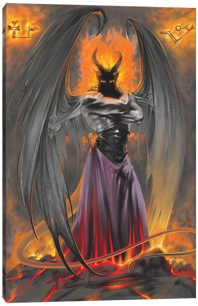Lucifer Standing Canvas Art Print