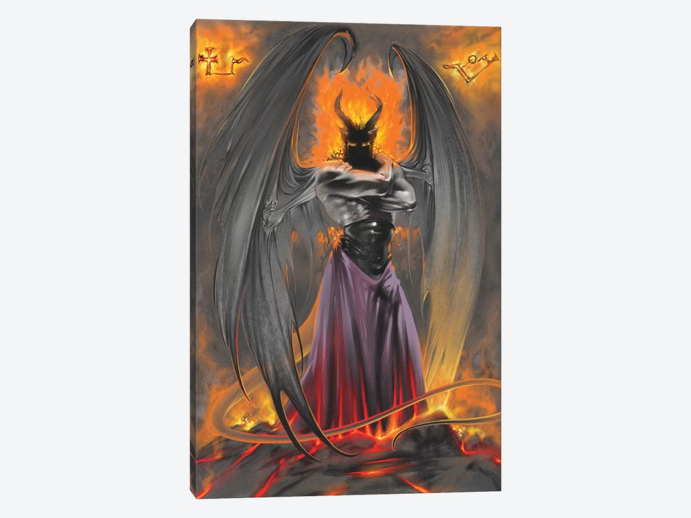 Lucifer Standing by Ruth Thompson 1-piece Canvas Wall Art