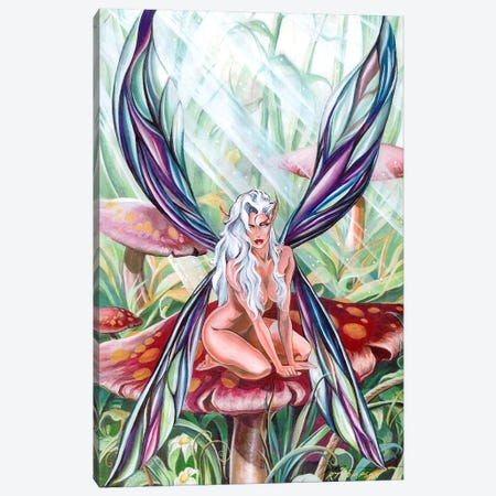 Oberon's Mistress Canvas Print #RTP82} by Ruth Thompson Canvas Print