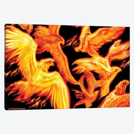 Phoenix Dawn Canvas Print #RTP88} by Ruth Thompson Canvas Print