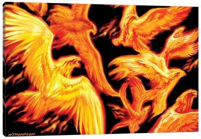 Phoenix Dawn Canvas Art Print