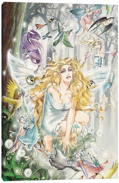 Aria Canvas Art Print
