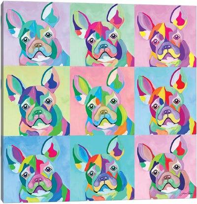 Pup Art Canvas Art Print