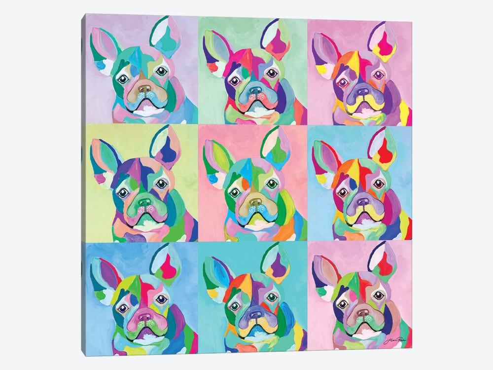 Pup Art by Gina Ritter 1-piece Canvas Artwork