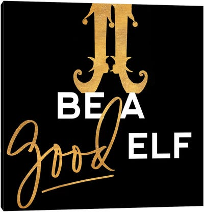 Be a Good Elf Canvas Art Print