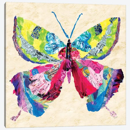 Brilliant Butterfly I Canvas Print #RTR1} by Gina Ritter Canvas Wall Art