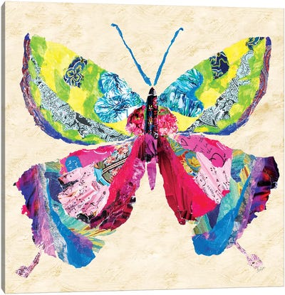 Brilliant Butterfly I Canvas Art Print