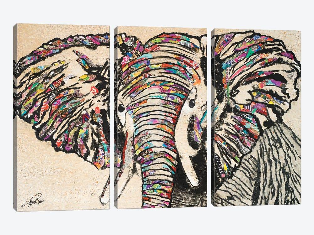 Serengeti Plains II by Gina Ritter 3-piece Art Print