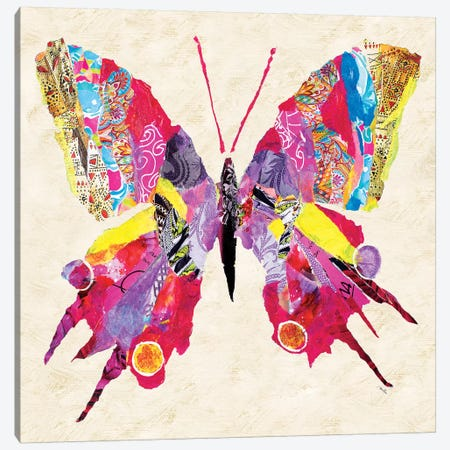 Brilliant Butterfly II Canvas Print #RTR2} by Gina Ritter Canvas Wall Art