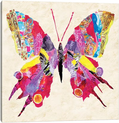 Brilliant Butterfly II Canvas Art Print