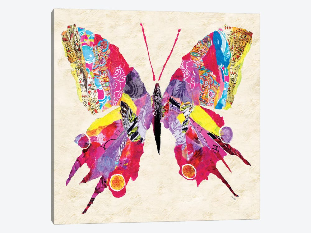 Brilliant Butterfly II by Gina Ritter 1-piece Art Print