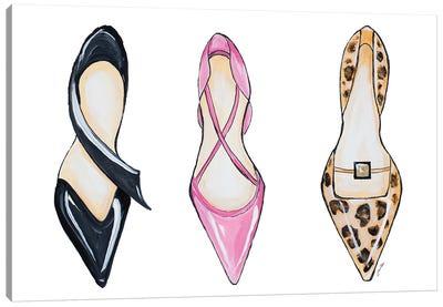 If The Shoe Fits II Canvas Art Print