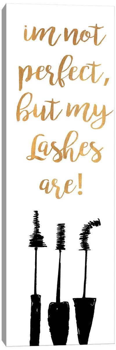 Perfect Lashes Canvas Art Print