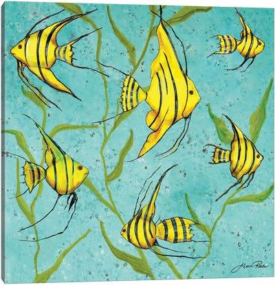 School Of Fish IV Canvas Art Print