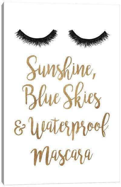 Waterproof Mascara Canvas Art Print