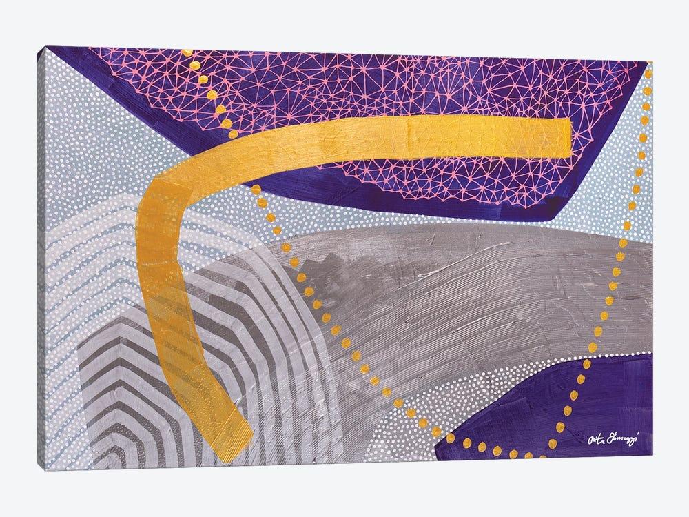 Crown Chakra by Rita Somogyi 1-piece Canvas Art