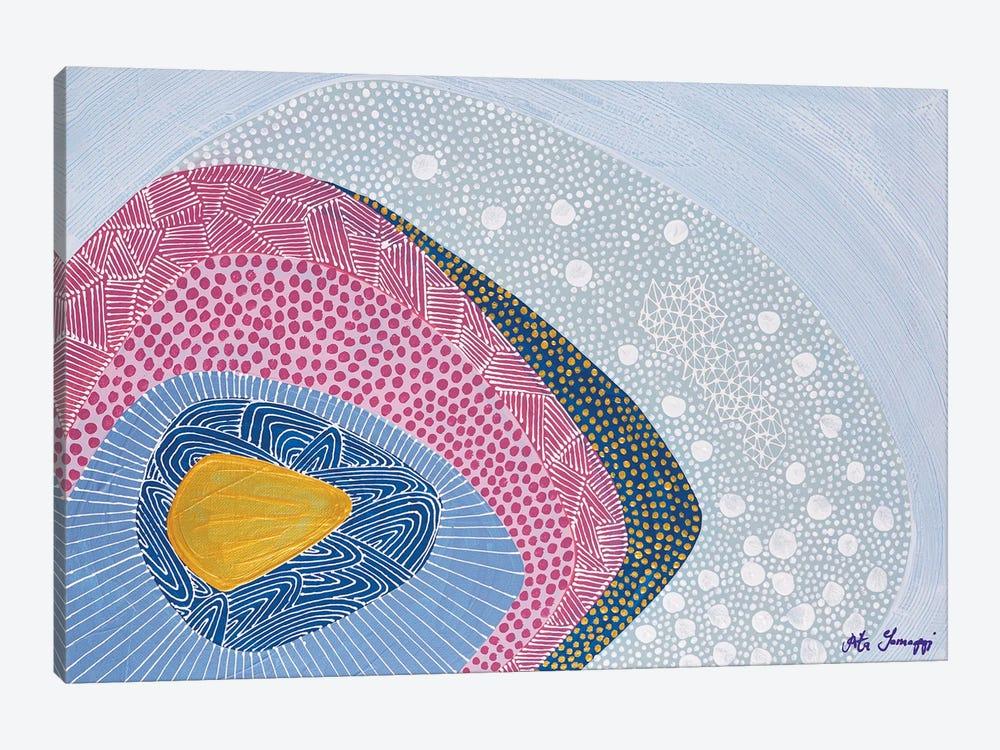 Water Ripples by Rita Somogyi 1-piece Canvas Wall Art
