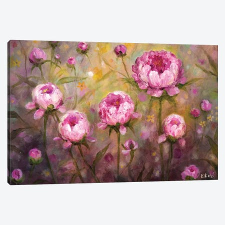 Sun Drenched Morning Canvas Print #RTZ13} by Kathleen Rietz Canvas Artwork