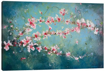 Magnolia Branches Canvas Art Print