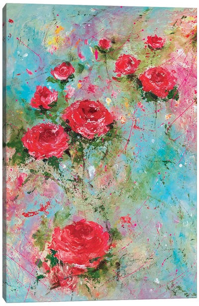 Rose Retreat Canvas Art Print